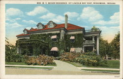 Mrs. M.V. Beiger Residence, 317 Lincoln Way East