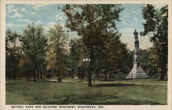 Battell Park and Soldiers' Monument
