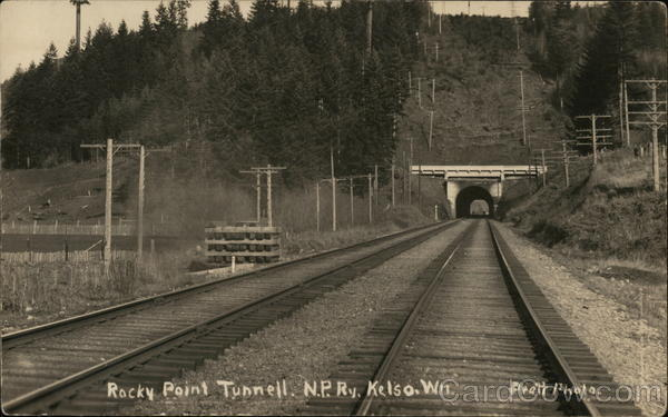 Rocky Point Tunnel, N.P.R. Kelso Washington