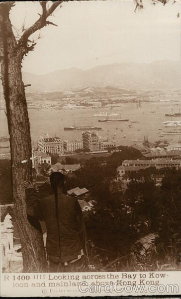 Looking Across Bay to Kowloon and Mainland