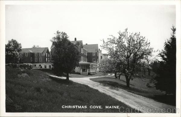 Christmas Cove South Bristol Me Postcard