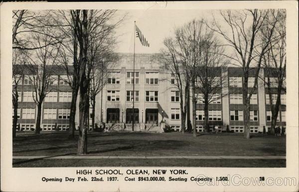 High School Olean New York