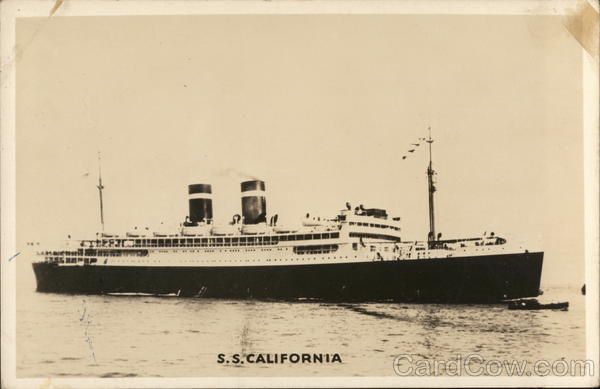 S.S. California Steamers