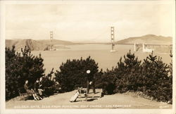 Golden Gate from Municipal Golf Course