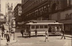 Cable Cars at Powell and Market
