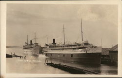 "Great Lakes Steamships - S.S. ""Tionesta"" and ""North American"""