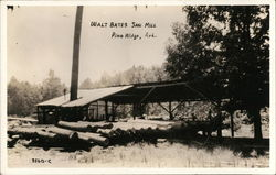 Walt Bates Saw Mill