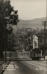 Cable Cars on Fillmore Street Hill