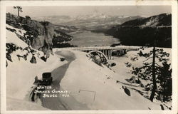 Winter, Donner Summit Bridge