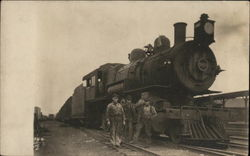Locomotive and Crew
