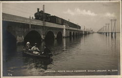 Railroad Bridge over Lagoon