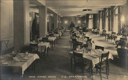 Christian Science Sanatorium - Main Dining Room