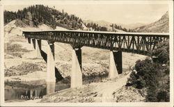 Pitt River Bridge, Highway 99