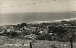 View of Twon and Beach