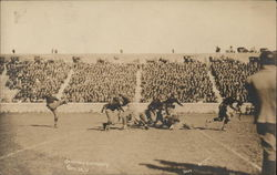 Kickoff at Football Game - Cornell vs. Gettysburg 1915