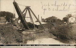 The Marion in Operation Steam Shovel, Dredge