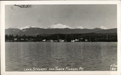 Lake Stevens and Three Fingers Mountain