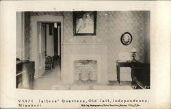 Jailers Quarters, Old Jail Postcard