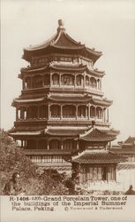 Imperial Summer Palace - Grand Porcelain Tower Postcard