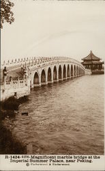 Imperial Summer Palace - Marble Bridge Postcard