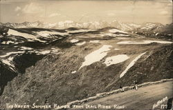 The Never Summer Range from Trail Ridge Road