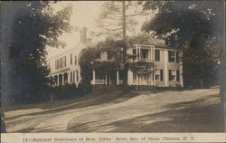 Summer Residence of Hon. Elihu Root, Secretary of State