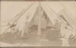 Camping in Ontario 1909