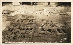 Footprints and Autographs of the Stars