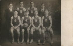 Sandy Creek Basketball Team 1911-12