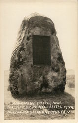 Monument on the Site of Ft. Necessity, 1754