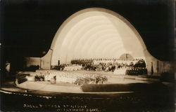Shell and Stage at Night, Hollywood Bowl
