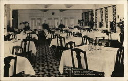 St. Helena Sanitarium - Main Dining Room