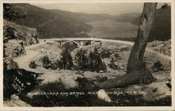 Donner Lake and Bridge