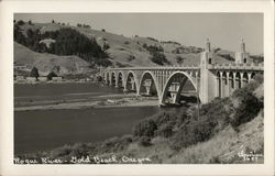 Rogue River and Bridge