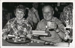 Lady Luck Casino, Man and Woman Smiling