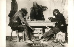 """Called"" - 3 African American Men Playing Cards, Two are Cheating"