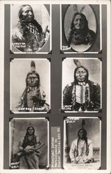 Six Pictures: Principal Indian Participants in Custer Battle