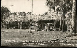 Seminole Indian Village at Royal Palm Tamiami Trail