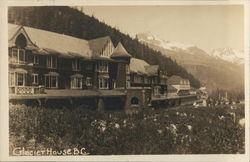 View of Glacier House