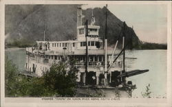 "Steamer ""Yukon"" on Yukon River Above Arctic Circle"