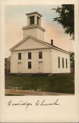Union Christian Church Postcard