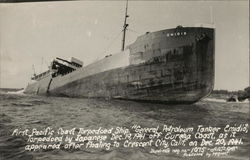 First Pacific Coast Torpedoed Ship Emidio