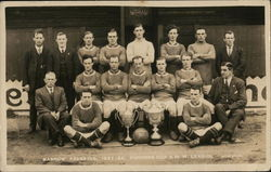 Rugby Barrow Reserves 1921-22 Furness Cup & N. W. League