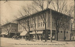 New Masonic Temple Postcard