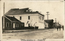 Missing Roof of Masonic Hall