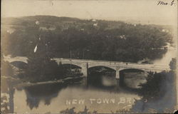 New Town Bridge - Aerial View