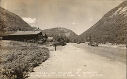 Crawford Notch State Park - Mts. Willey, Willard and Webster