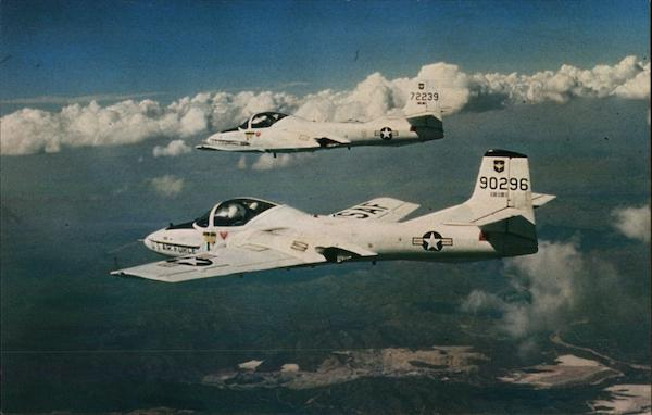 Class Room In The Sky T-37B Aircraft