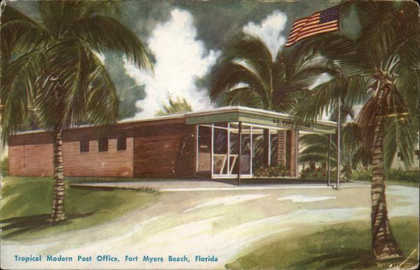 Post Office Fort Myers Beach Florida