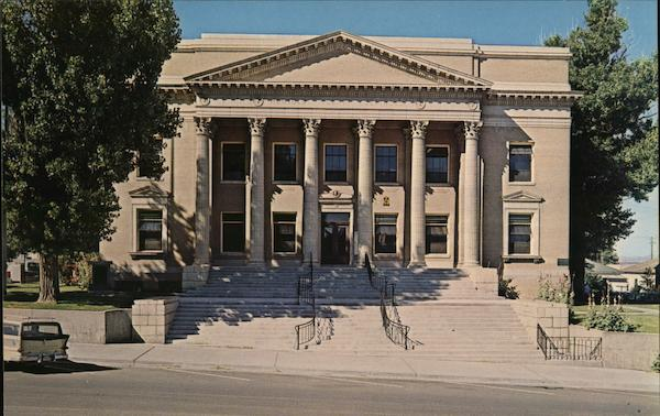 Humboldt County Court House Winnemucca Nevada
